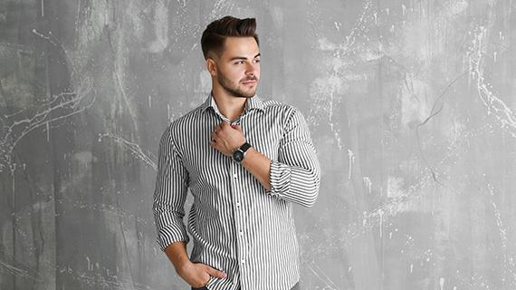 What are the latest trends in men's fashion?